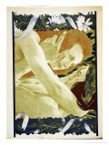 "The Enigma, 1898, from ""L'Estampe Moderne,"" Published Paris 1897-99 Giclee Print by Henri Jules Ferdinand Bellery-defonaines"