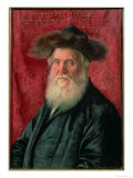 Portrait of the Rabbi of Nadvorno, circa 1910 Impresso gicle por Isidor Kaufmann