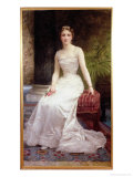 Portrait of Madame Olry-Roederer, 1900 Giclee Print by William Adolphe Bouguereau
