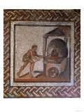 Baker and Bread Oven, Originally from Saint-Romain-En-Gal, Rhone-Alpes, France, 3rd Century AD Giclee Print