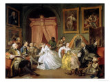 Marriage a La Mode: IV, the Toilette, circa 1743 Giclee Print by William Hogarth