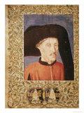 """Henry the Navigator from """"Des Chroniques Chevaleresques De L'Espagne Et Du Portugal"""", Giclee Print"""