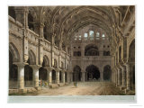 "Interior of the Palace, Madura, Plate XV from ""Oriental Scenery,"" Published 1798 Premium Giclee Print by Thomas Daniell"