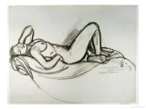 Reclining Nude, circa 1906 Giclee Print by Maxime Dethomas