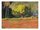 Fatata Te Moua, 1892 Giclee Print by Paul Gauguin