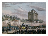 The Return to Paris of Louis XVI from Varennes, 26th June 1791 Giclee Print by Jean Louis Prieur