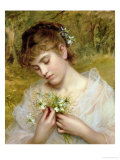 Love in a Mist Giclee Print by Sophie Anderson