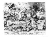Anger Giclee Print by Pieter Bruegel the Elder