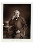 Edmond De Goncourt from &quot;Galerie Contemporaine,&quot; circa 1874-78 Giclee Print by Nadar 