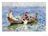 August Blue, circa 1911 Giclee Print by Henry Scott Tuke