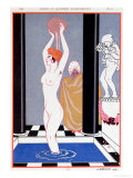 The Basin, 1914 Giclee Print by Georges Barbier