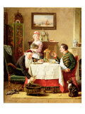 A Satisfying Meal, 1883 Giclee Print by Charles Meer Webb