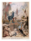 "St. Genevieve, from a Series on the Heroines of France in ""Le Petit Journal,"" 1896 Giclee Print by Lionel Noel Royer"
