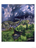 View of Toledo, circa 1597-99 Giclee Print by El Greco 