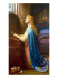 Forget Me Not Giclee Print by Arthur Hughes