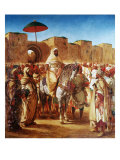 The Moroccan Chief, 1845 Giclee Print by Eugene Delacroix