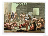 An Ancient Celtic or Gaulish Camp, circa 1800 Giclee Print by Gallo Gallina