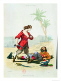 "Mary Read from ""Histoire Des Pirates"" by P. Christian Giclee Print by Alexandre Debelle"