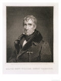 Major General William Henry Harrison, 9th President of the United States of America Giclee Print by James Reid Lambdin