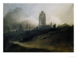 St. Mary's Redcliffe, Bristol, Dawn Giclee Print by John Sell Cotman