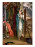 The Property Room, 1879 Giclee Print by Arthur Hughes