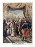 Jules Cambon Governor General of Algeria 1871-1897 at the Moroccan Frontier Giclee Print by Henri Meyer