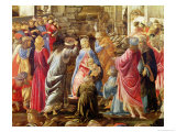 The Adoration of the Kings, circa 1470-75 Giclee Print by Sandro Botticelli