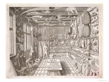 Museum of Ole Worm, Leiden, 1655 Giclee Print by G. Wingendorp