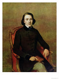 Portrait of Victor Hugo 1829 Giclee Print by Paul Gavarni