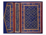 Inner Face of a Koran Case with a Thulth Inscription on the Binding Giclee Print