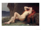 Mary Magdalene in the Cave, 1876 Reproduction proc&#233;d&#233; gicl&#233;e par Jules Joseph Lefebvre