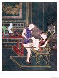 Erotic Scene Premium Giclee Print