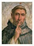St. Dominic Giclée-tryk af Fra Bartolommeo