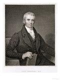 John Marshall Giclee Print by Henry Inman