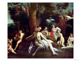 Leda and the Swan Giclee Print by  Correggio