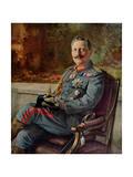 Portrait of Kaiser Wilhelm II Giclee Print