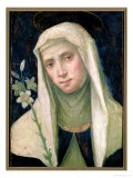 St. Catherine of Siena Reproduction procédé giclée par Fra Bartolommeo