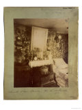 Bedroom of a Female Worker, Rue De Belleville, Paris, 1910 Premium Giclee Print by Eugene Atget