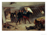 Episode from the Franco-Prussian War, 1875 Giclee Print by Alphonse Marie de Neuville