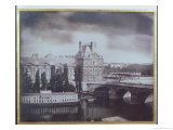 View of the Louvre and the Tuileries, circa 1850 Giclee Print