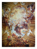 Triumph in the Name of Jesus Giclee Print by Giovanni Battista Gaulli