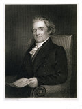 Noah Webster Reproduction proc&#233;d&#233; gicl&#233;e par Jared Bradley Flagg