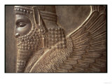 Winged Man with Lion's Body, Detail of a Relief from the North Stairway of the Tripylon, c. 470 BC Premium Giclee Print