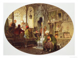 Ottoman Coffee House, 1862 Reproduction proc&#233;d&#233; gicl&#233;e par Amadeo Preziosi