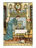 """My Lady's Chamber, Frontispiece to """"The House Beautiful"""" Giclee Print by Walter Crane"""