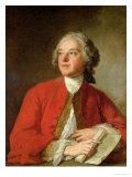 Pierre Augustin Caron De Beaumarchais Giclee Print by Jean-Marc Nattier