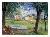 Villeneuve-La-Garenne, 1872 Giclee Print by Alfred Sisley