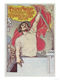 1st May, Poster of the Italian Socialist Party, 1901 Giclee Print