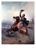 Portrait of Victor Emmanuel II King of Sardinia and Italy Premium Giclee Print by P. Litta