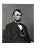 Abraham Lincoln, 16th President of the United States of America Giclee Print by Mathew Brady